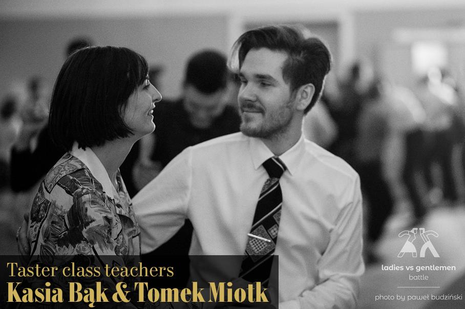 Kasia Bąk & Tomek Miotk